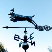 3D Weathervane with Garden Stake - Deer