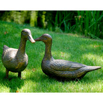 'Pair of Ducks' Decorative Garden Figures