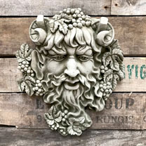 Image of Bacchus Plaque
