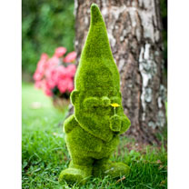 Large Grassy Garden Gnome