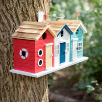 Image of Beach Hut Birdhouse