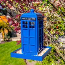 Police Box Seed Feeder