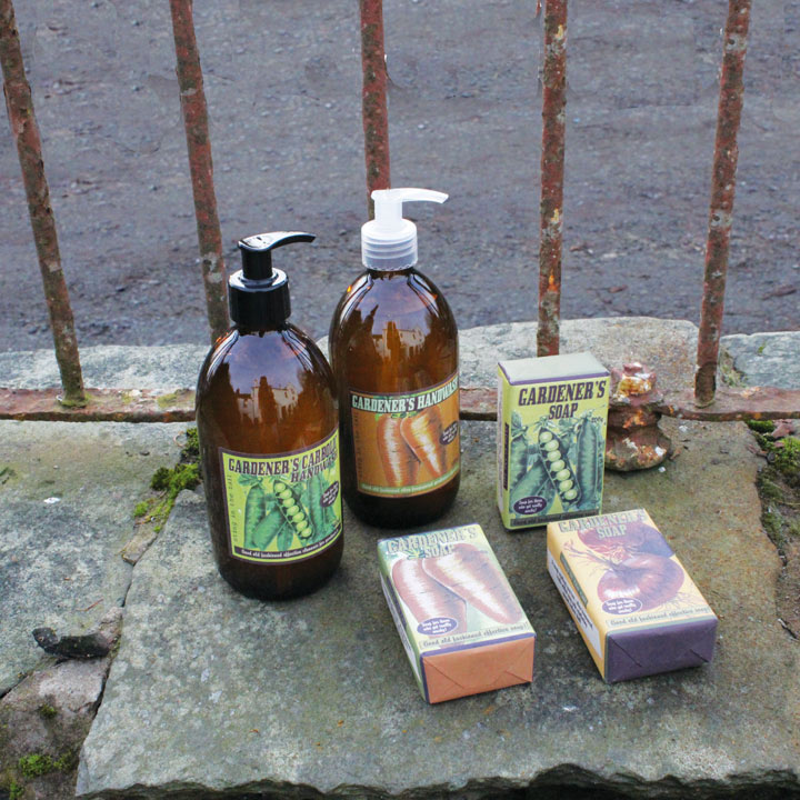 Gardener's Pea & Carrot Cleansing Products