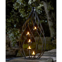 Spiral Lantern Tea-Light Holder
