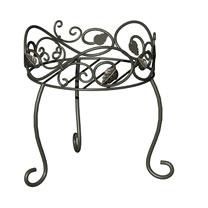 Scroll & Ivy Plant Stand - 29cm