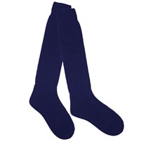Thermal Wellington Boot Socks  - Navy