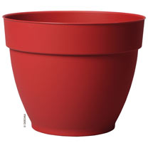 Ninfea Water Reservoir Planter 22cm - Cherry