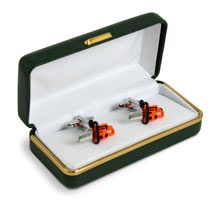 Gardening Cufflinks - Chainsaw