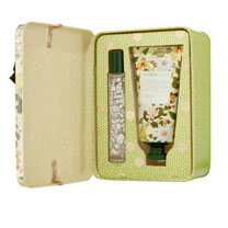 RHS Daisy Garlands Perfume Gel & Hand Cream Tin Set