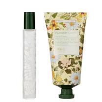 RHS Daisy Garlands Perfume Gel & Hand Cream Tin Set