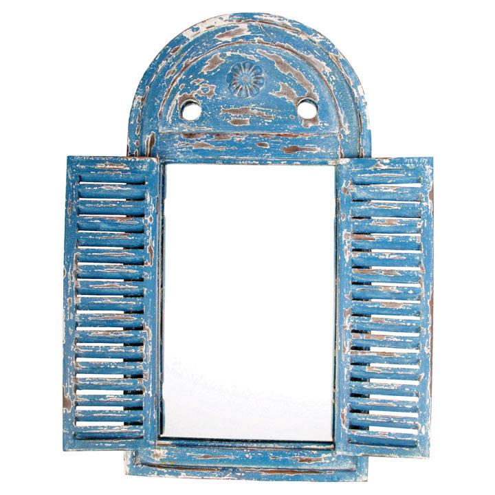 Louvre Mirror Blue