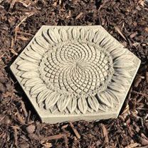 Sunflower Stepping Stone Insect Drinker