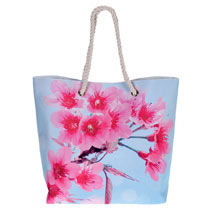 Blossom Beach Bag - Perfect Pink