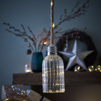 Glass Lamp LED Decoration