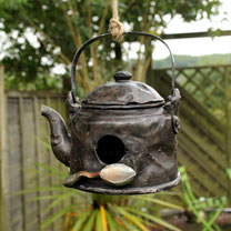 Kettle Bird House
