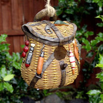 Fishing Bag Bird House