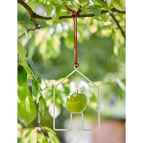 House Shaped Apple Bird Feeder