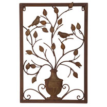 Vase Wall Plaque