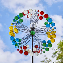 Harlequin Wind Spinner