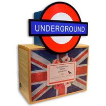 London Underground Bird House