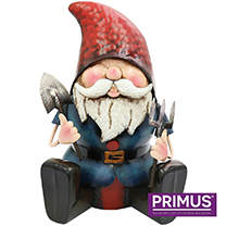 Ready to Dig Metal Gnome