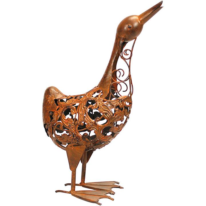 Rusty Metal Duck