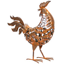 Rusty Metal Rooster
