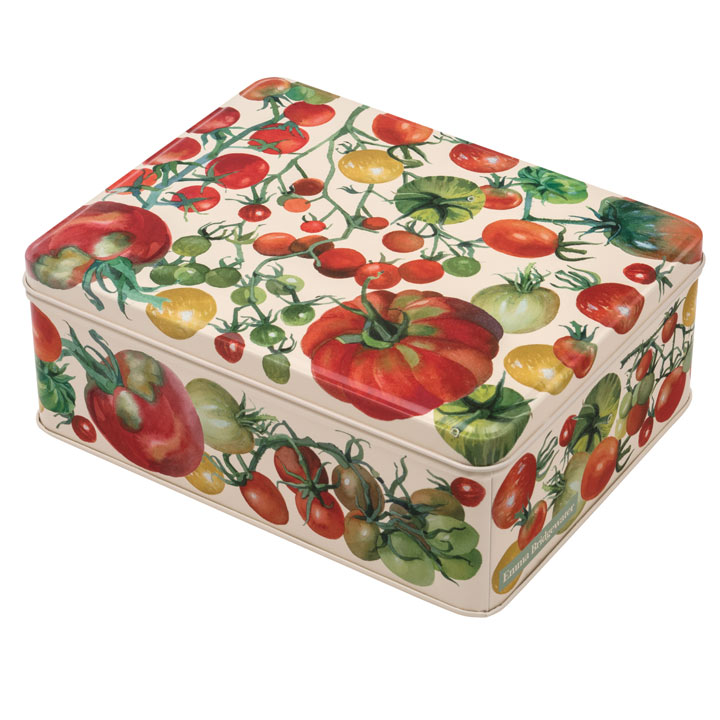 Tomato Tin - Biscuit / Tea Caddy