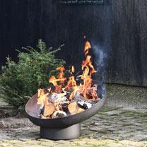 Sloping Firebowl