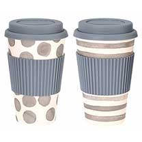 Travel Mug Twin Pack - Grey