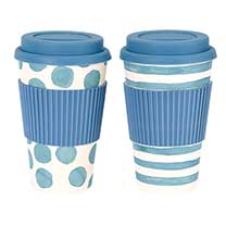 Travel Mug Twin Pack - Blue