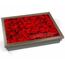 Red Roses Lap Tray
