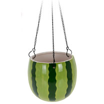 Large Watermelon Design Flower Pot