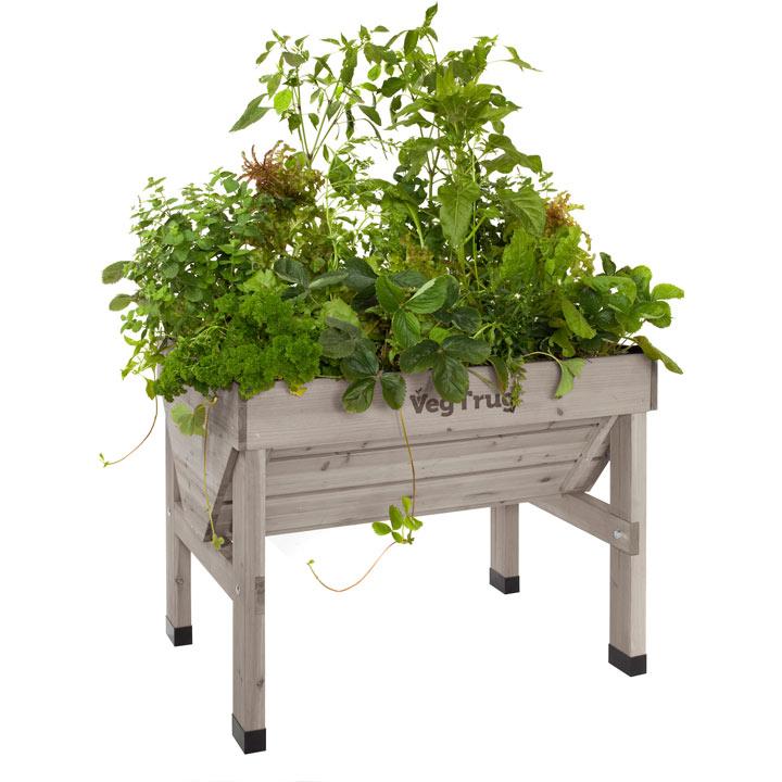 VegTrug 1m - Greywash plus FREE seeds worth £15