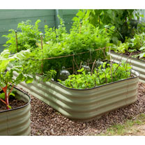 Original Veggie Bed Sage Green (Pair)