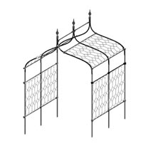 Lattice Infill for Gothic Pergola