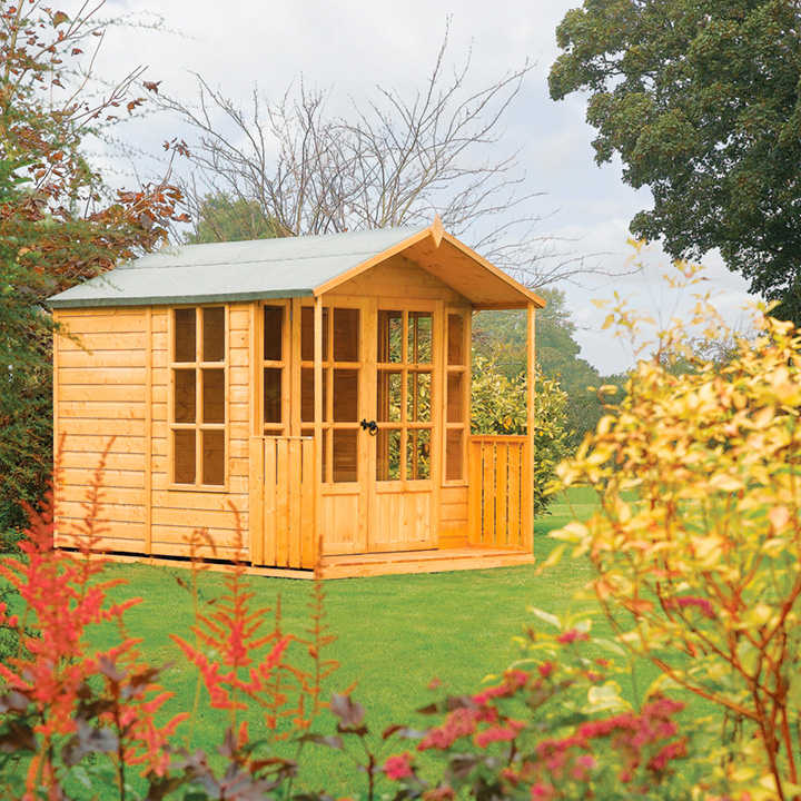 arley summerhouse garden features garden accessories. Black Bedroom Furniture Sets. Home Design Ideas