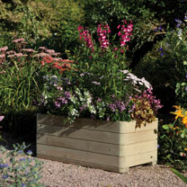 Rectangular Planter - Rounded Edges