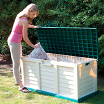 Image of Plastic Storage Box/Bench
