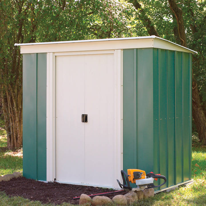 Metal Pent Shed
