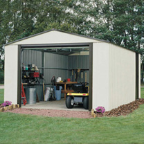 Murryhill Metal Garage - 12' x 31'