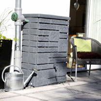 Image of Maurano Water Tank - Charcoal 300 Litre