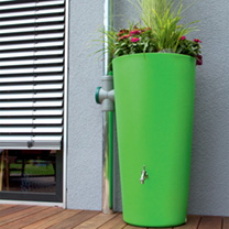 Rain Bowl Flower Water Tank - Kiwi 150 Litre