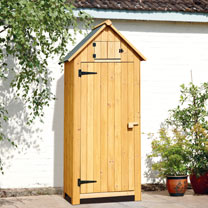 Garden Tool Shed - Natural