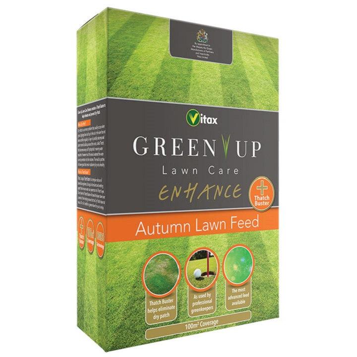 Vitax Autumn Lawn Feed 100m²