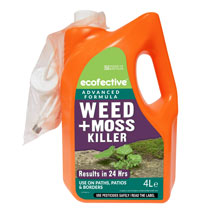 Weed & Moss Killer for Paths & Patios Ecofective - Ready to Use