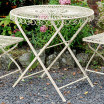 Old Rectory Round Table - Cream