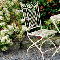 Old Rectory Folding Chair - Cream