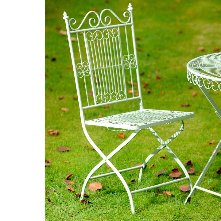 Old Rectory Folding Chair - Green
