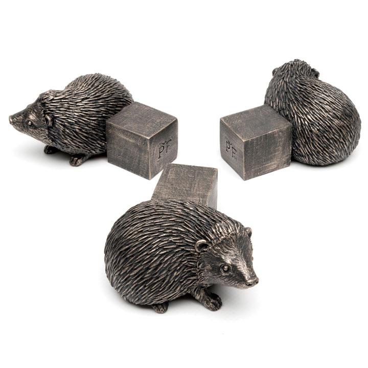 Set of Three 'Hedgehog' Pot Feet